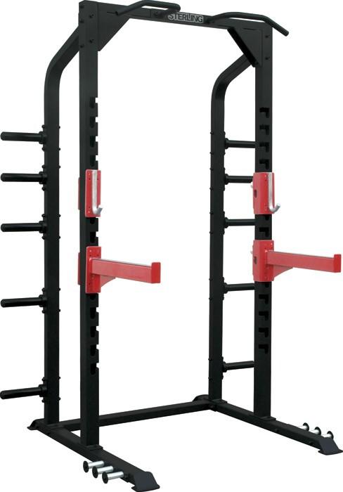 Half rack cu manere pentru tractiuni, Impulse Fitness