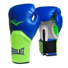 Manusi box ProStyle Elite, 12 oz, albastru-verde, Everlast