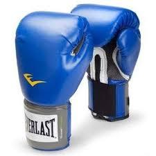 Manusi box Pro Style, 10 oz, albastru, Everlast