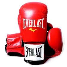 Manusi box piele Fighter, 8oz, rosu, Everlast