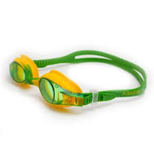 Ochelari inot copii Kido, galben/verde, Aquazone