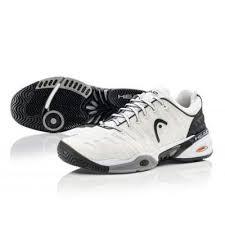Pantofi tenis adulti, alb-negru, Speed Pro, Head