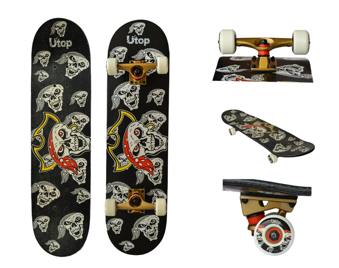 Skateboard artar canadian 9 straturi-PIRATE