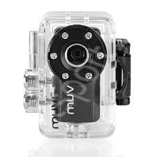 Camera Veho MUVI Atom -No proof, no glory- cu carcasa rezistenta la apa