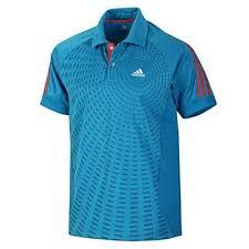 brand popular nou ridicat 100% calitate superioară Tricou polo tenis de masa Atake, albastru, Adidas [V13777 ...