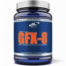 Amestec de proteine pentru cresterea rapida a masei musculara GFX-8, 1500 g, ciocolata, Pro Nutrition