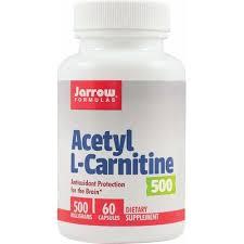 Antioxidant Acetil L-Carnitine, 500 mg, 60 capsule, Jarrow Formulas