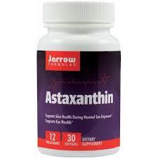 Antioxidant carotenoid, Astaxanthin, 12 mg, 30 capsule moi, Jarrow Formulas