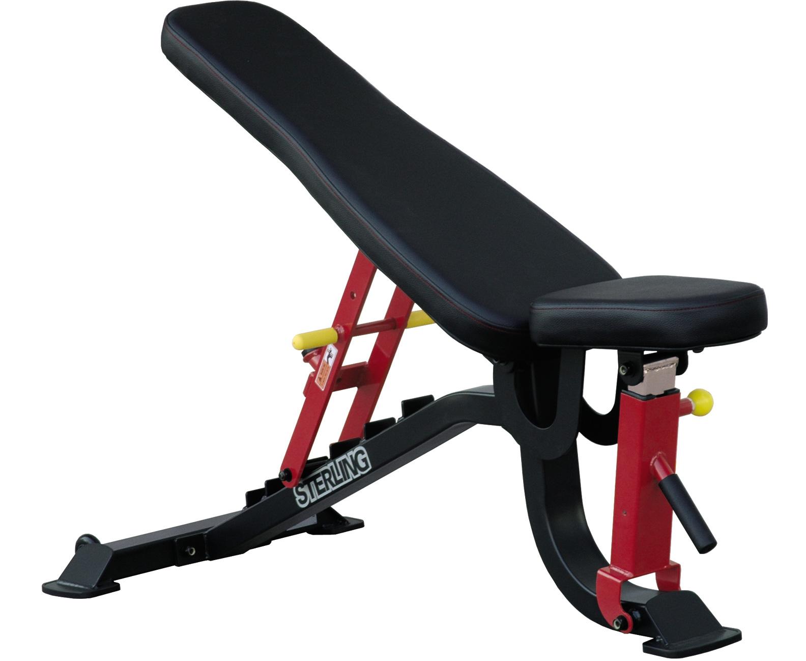 Banca exercitii reglabila, profesionala, SL 7011, Impulse Fitness