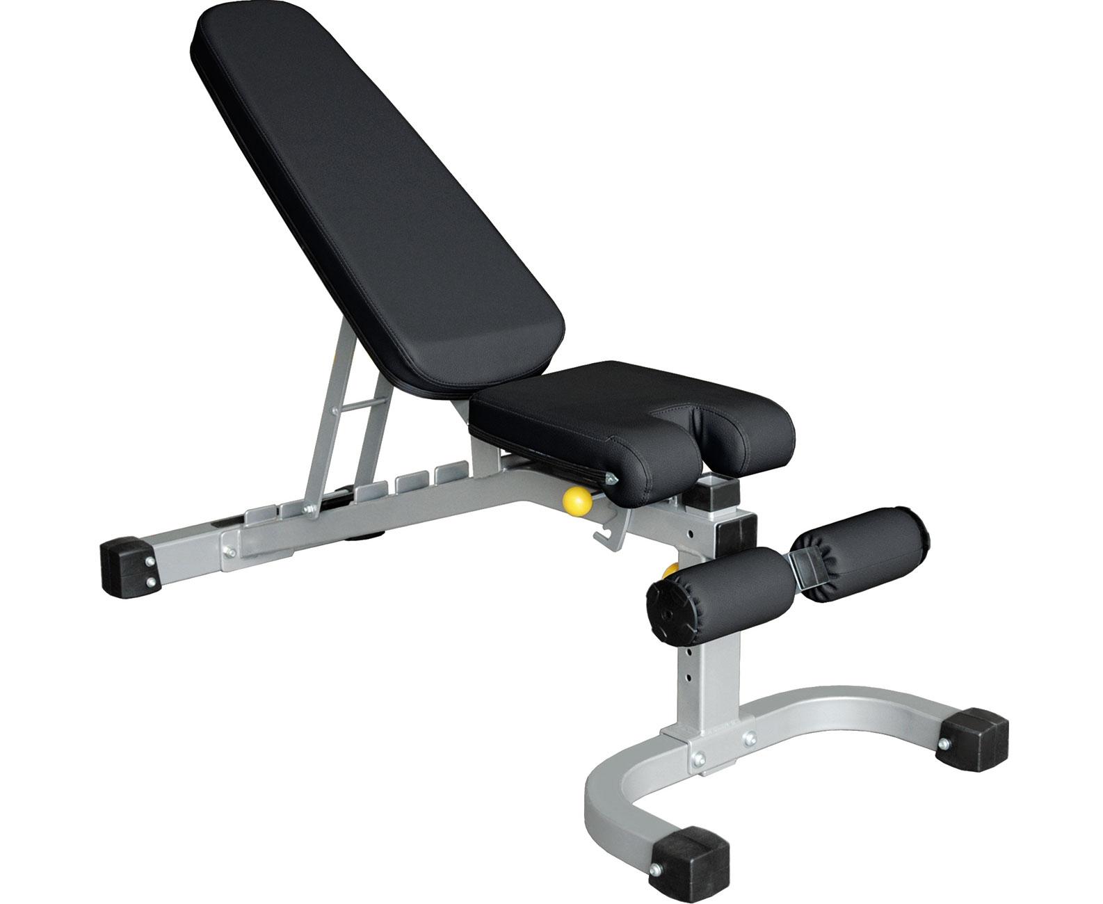 Banca fitness orizontala pentru exercitii, IFFID, Impulse Fitness