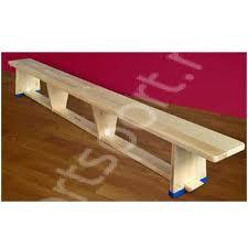 Banca gimnastica cu picioare din lemn - 3m