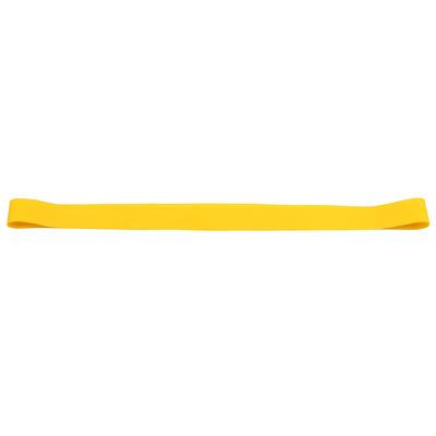 Banda elastica circulara pentru exercitii fitness, rezistenta mica, galben
