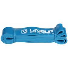 Banda elastica exercitii fitness si crossfit, intensitate tare, albastru