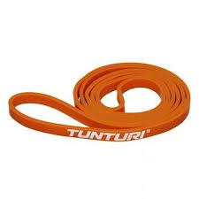 Banda elastica fitness, 5-10kgf, portocaliu, Tunturi