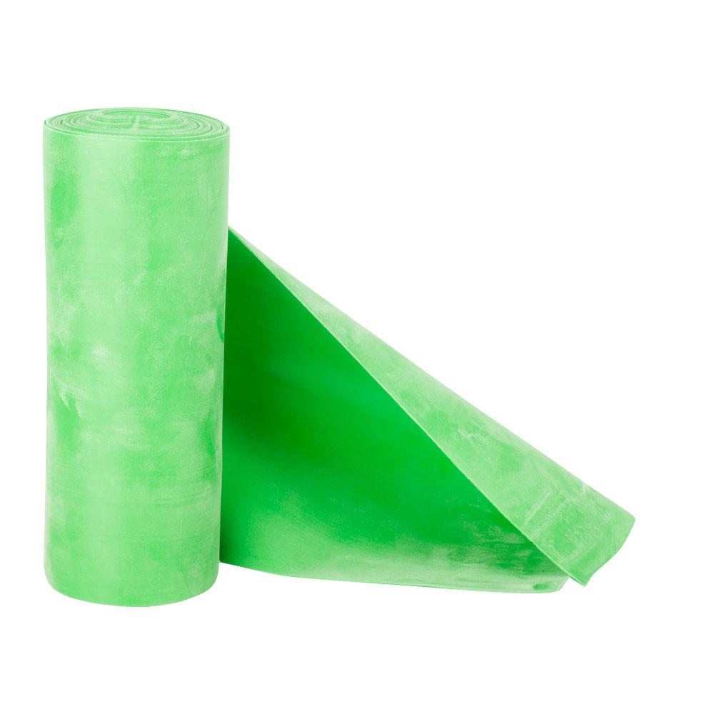 Banda elastica fitness si aerobic, intensitate usoara, 1.5kgf, rola 5.5m, Morpo Roll