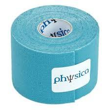 Banda kinesiologica (kinesio tape) albastru - rola 5m