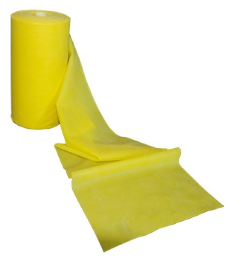 Banda latex pentru recuperare fizica, galben, 24m