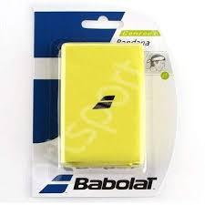 Bandana tenis Babolat - galben