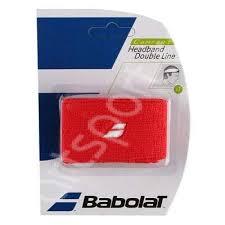 Bandana tenis Babolat Double line - rosu