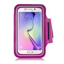 Banderola telefon pentru brat, 4.5inch, roz, Polaroid