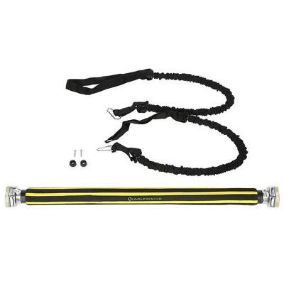 Bara tractiuni reglabila, 67.5 - 100cm, pentru tocul usii, cu corzi elastice