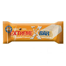Baton proteic energizant Gold Nutrition cu iaurt si piersici, 46g