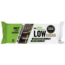 Baton proteic Gold Nutrition cu aroma de biscuiti cu crema, 60g