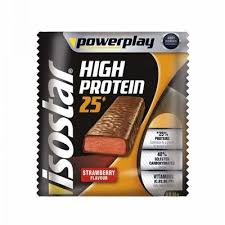 Baton proteic pentru sportivi, Powerplay, capsuni, 3x35g