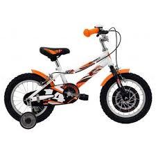 Bicicleta copii pentru fete, 14 inch, DHS