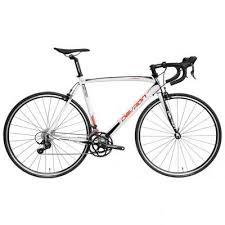 Bicicleta cursiera, Urbio R2.8, alb-rosu, Devron