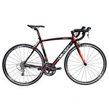 Bicicleta cursiera, Urbio R4.8, negru-rosu, Devron
