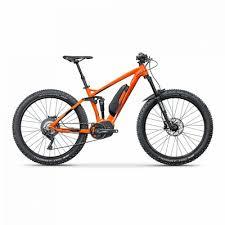 Bicicleta electrica full suspension, 27.5 inch, Fatal FS 1, cadru 17 inch, portocaliu