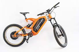 Bicicleta electrica full suspension, 27.5inch, motor 1500W, BIG BLOCK PRO, portocaliu