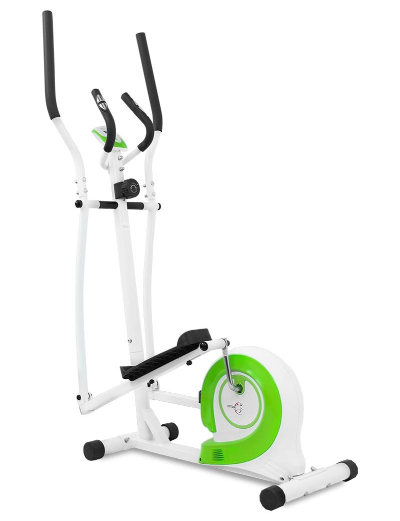 Bicicleta eliptica pentru acasa Hiton Travel, alba