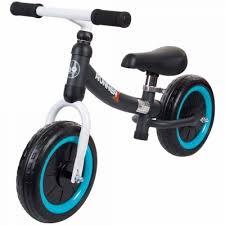 Bicicleta fara pedale pentru copii 3 ani+, Sun Baby Runner X, Negru,