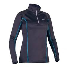 Bluza alergare dama termoactiva, marime M, Warmracer, Spokey