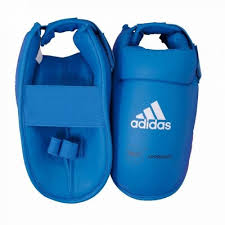 Botosei karate antrenament, albastru, marime M, Adidas