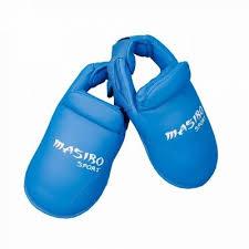 Botosei karate antrenament, albastru, marime M