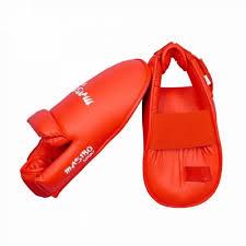 Botosei karate antrenament, rosu, marime L