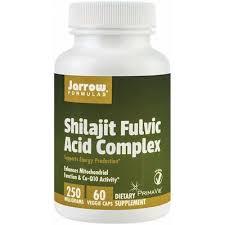 Capsule vegetale Shilajit Fulvic Acid Complex 250mg, 60 capsule, Jarrow Formulas