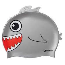 Casca inot copii, rechin, Finis