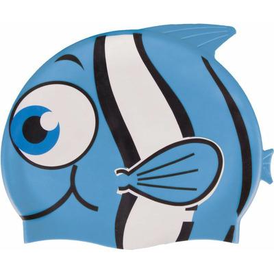 Casca inot copii, silicon albastru, Fish, Spokey
