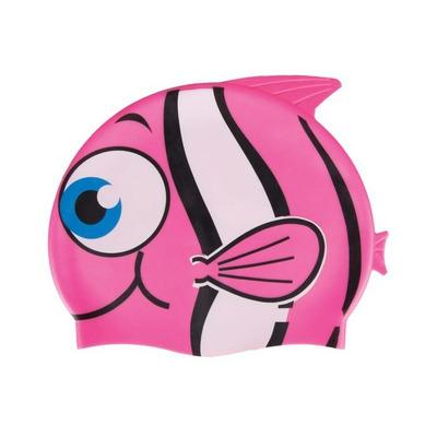 Casca inot copii, silicon roz, Fish, Spokey