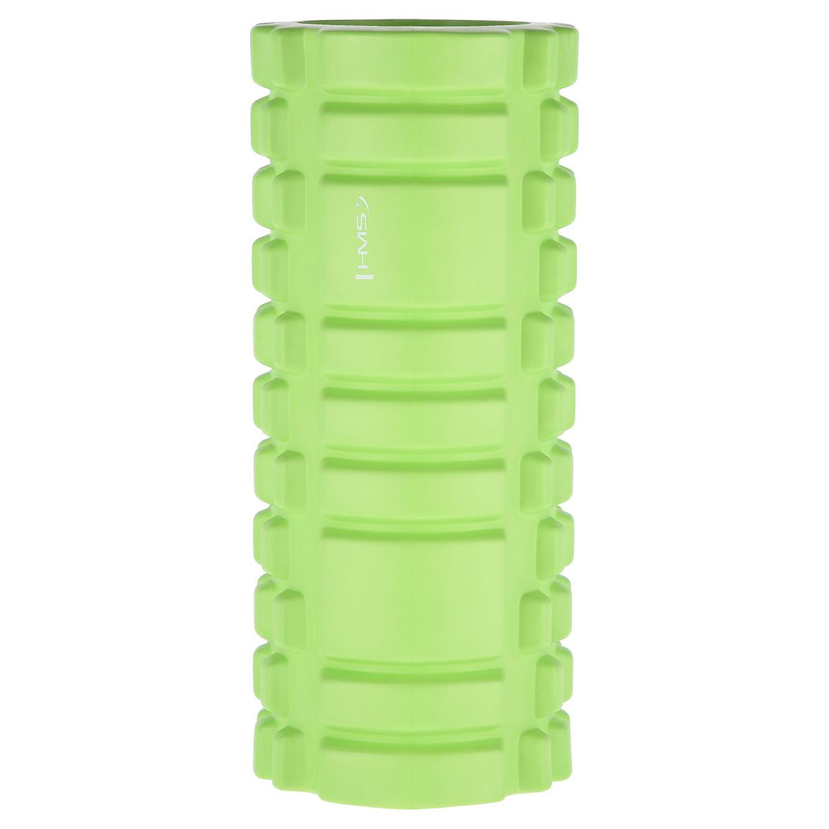 Cilindru masaj, fitness roller, 33cm, verde