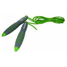 Coarda pentru sarit cu contor, 275 cm, verde, Tunturi