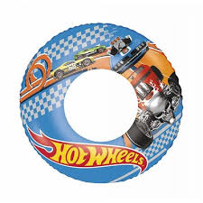 Colac gonflabil, 3+ ani, 56cm, Hot Wheels, Bestway