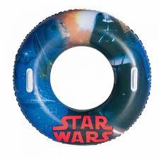 Colac gonflabil cu manere, 10+ ani, 91cm, Star Wars, Bestway