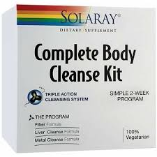 Complete Body Cleanse KIit, 117.16 g, Solaray