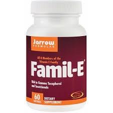 Complex Vitamina E Famil-E, 60 capsule, Jarrow Formulas