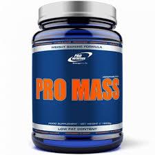 Concentrat proteic pentru cresterea masei musculare Pro Mass, 1600 g, capsuni, Pro Nutrition